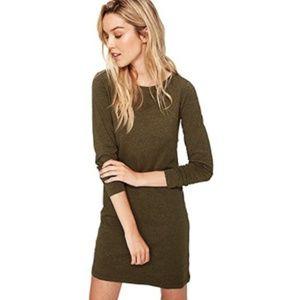 LOLE NWT Luisa Long Sleeve Green Dress Small
